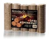 ECOMAX Podstawowy produkt  marki. Opał kominkowy najwyższej jakości, potwierdzonej znakiem DIN Plus.